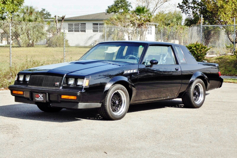 1987 buick grand national gnx coupe 194476. Black Bedroom Furniture Sets. Home Design Ideas