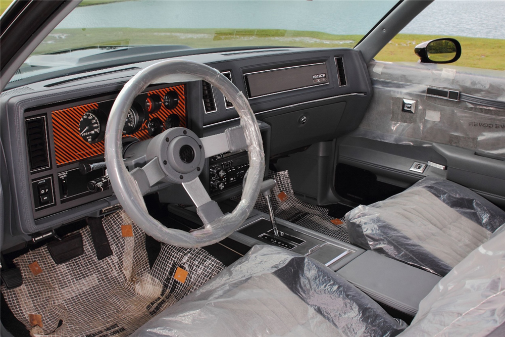 1987 buick grand national gnx coupe 194476 - 1987 buick grand national interior ...