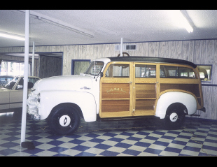 1955 CHEVROLET 3112 CARRYALL STATION WAGON -  - 19455