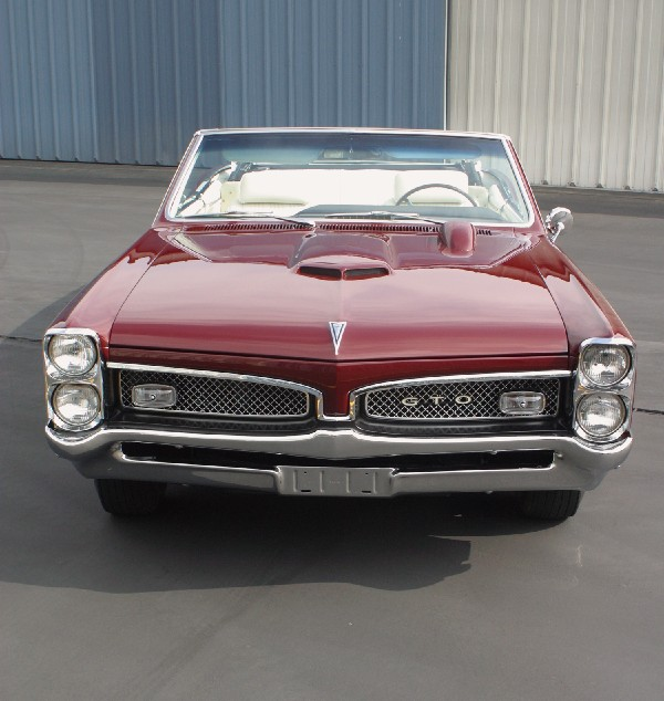 1967 PONTIAC GTO CONVERTIBLE - Side Profile - 19469