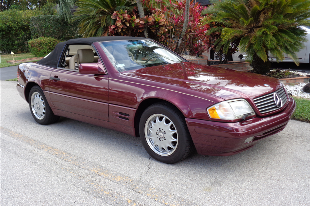 1996 mercedes benz sl500 convertible 194716