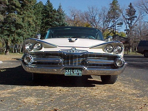 1959 DODGE CUSTOM ROYAL SUPER D 2 DOOR - Side Profile - 19475