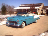 1955 CHEVROLET BEL AIR CONVERTIBLE -  - 19482