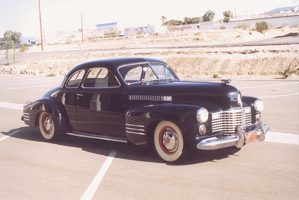 1941 CADILLAC 6227 COUPE - Front 3/4 - 19488