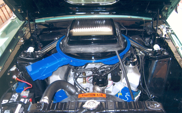 1969 FORD MUSTANG MACH 1 428 SCJ FASTBACK - Engine - 19491