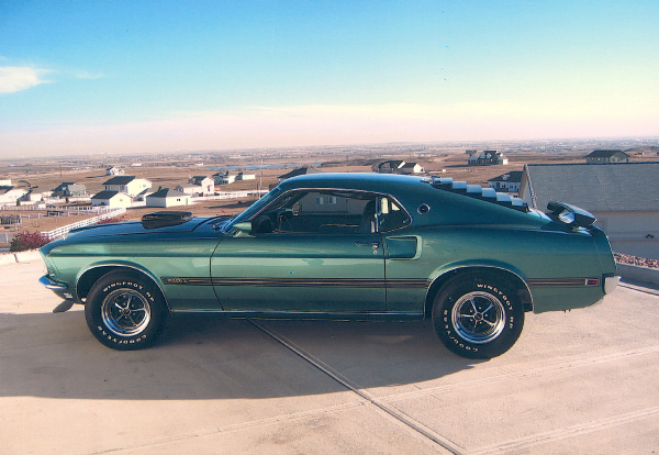 1969 FORD MUSTANG MACH 1 428 SCJ FASTBACK - Front 3/4 - 19491