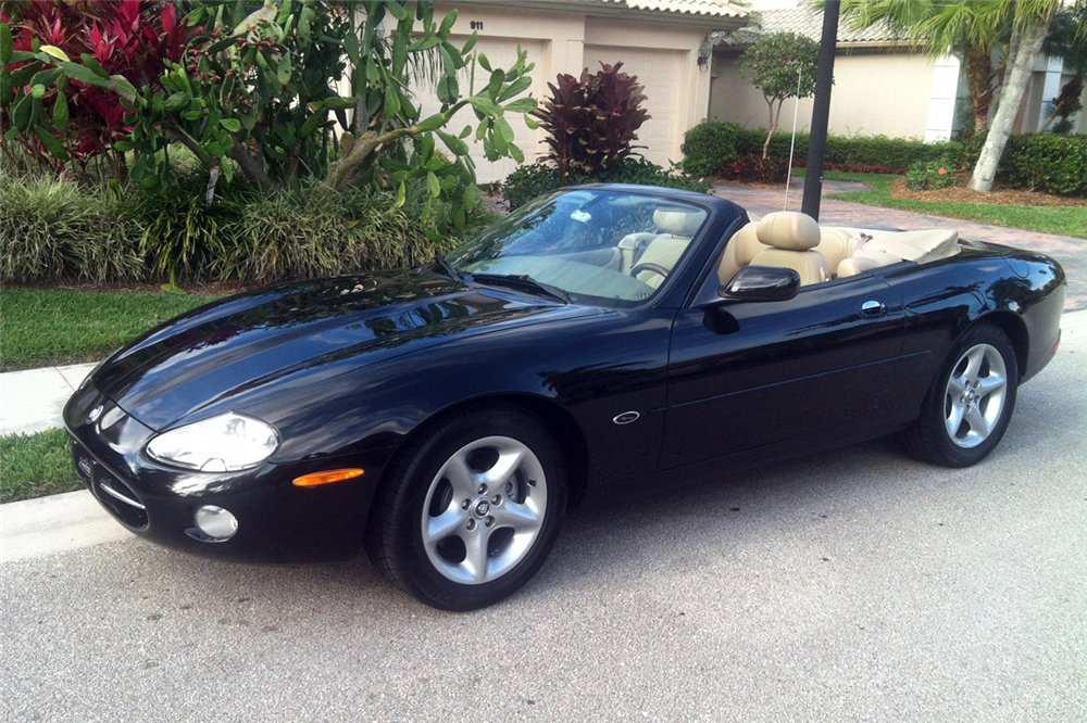 2001 jaguar xk8 convertible 194993. Black Bedroom Furniture Sets. Home Design Ideas