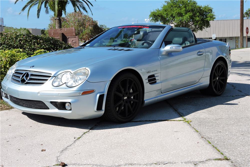 2005 mercedes benz sl65 amg convertible 195105 for Mercedes benz sl65 amg for sale