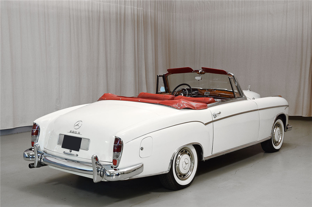 1959 mercedes benz 220s convertible 195154 for Mercedes benz 220s for sale
