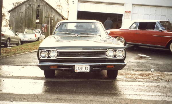 1968 PLYMOUTH GTX COUPE - Side Profile - 19520