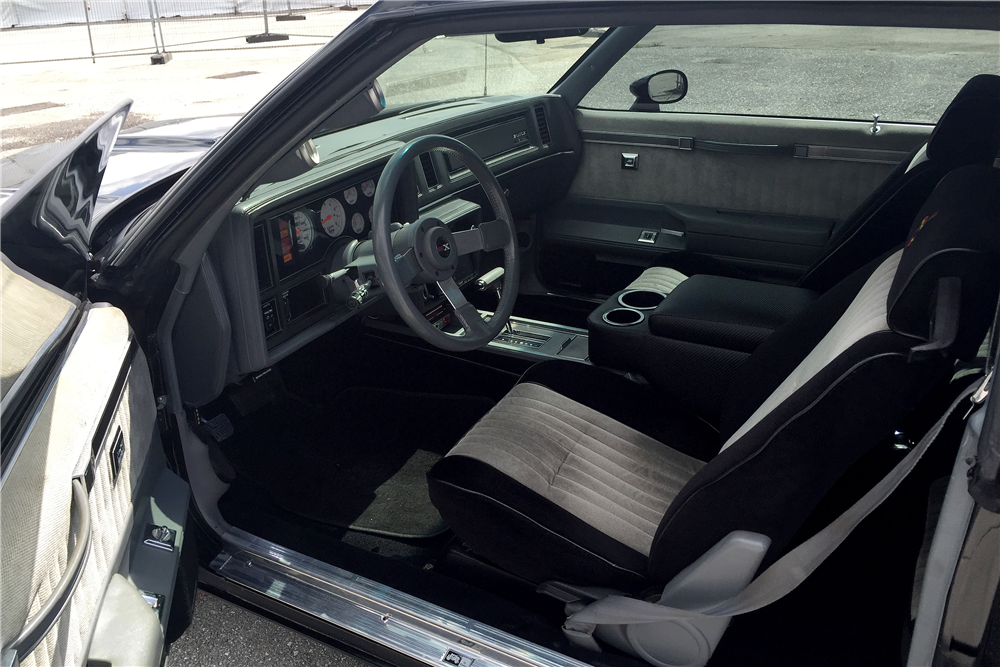 1987 buick grand national custom coupe 195246 - 1987 buick grand national interior ...