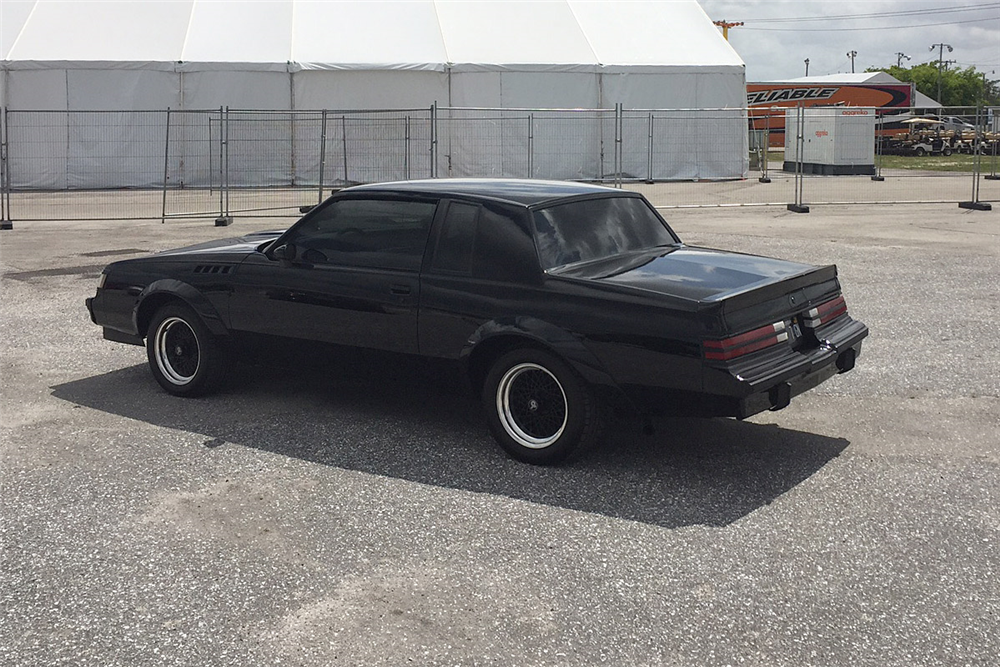 1987 BUICK GRAND NATIONAL CUSTOM COUPE - 195246