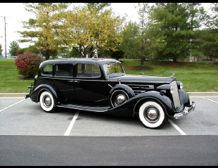 1937 PACKARD 1508 TOURING LIMOUSINE -  - 19539