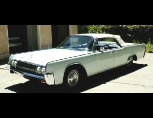 1963 LINCOLN CONTINENTAL CONVERTIBLE -  - 19540