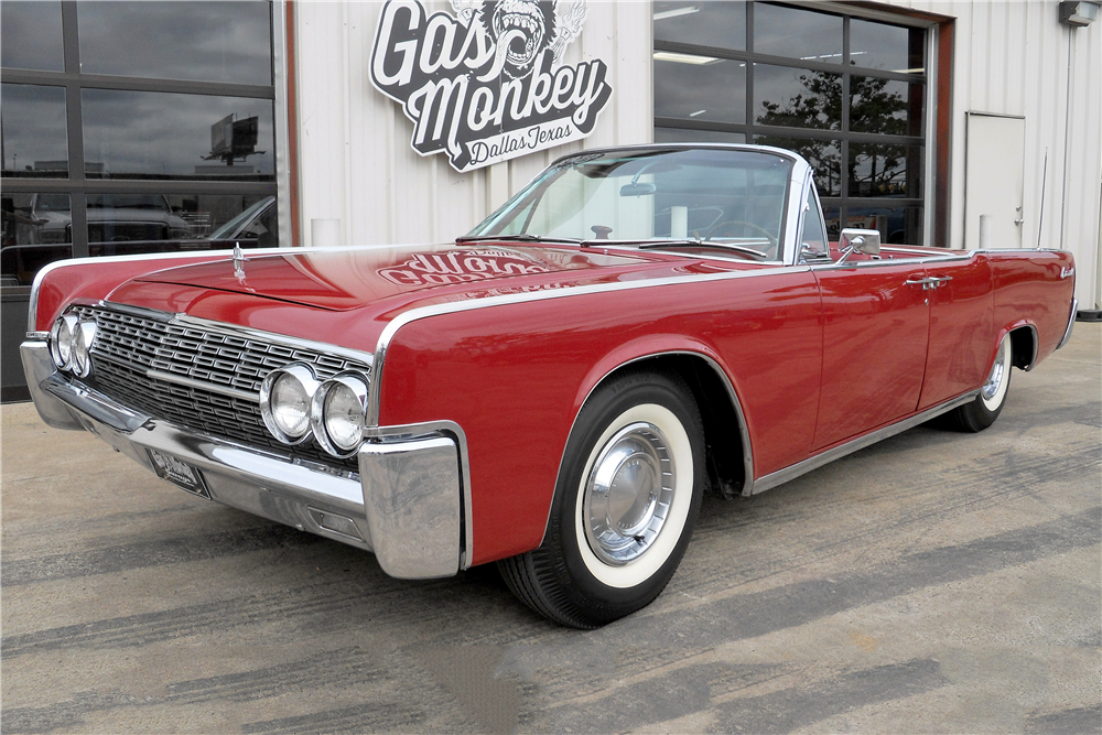 Gas Monkey Garage Lincoln Continental >> 1962 LINCOLN CONTINENTAL 4-DOOR CONVERTIBLE - 195576