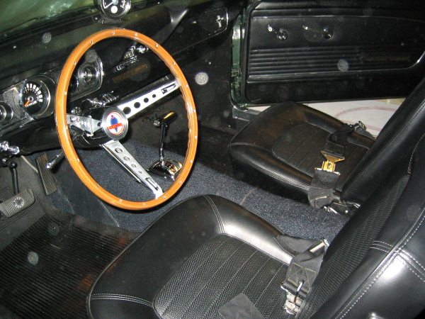1966 SHELBY GT350 H FASTBACK - Interior - 19560