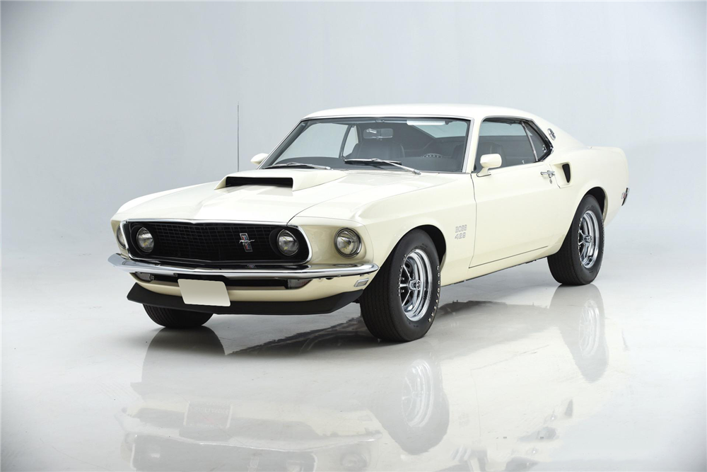 1969 FORD MUSTANG BOSS 429 FASTBACK - 195631