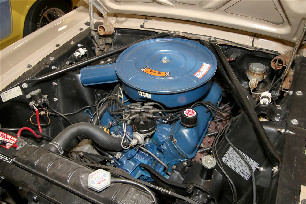 1966 FORD MUSTANG CONVERTIBLE - Engine - 195651
