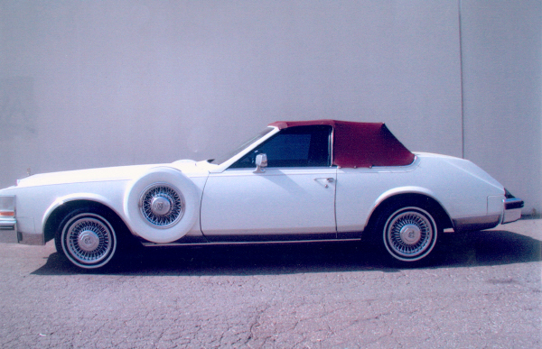 1982 CADILLAC CONVERTIBLE - Side Profile - 19566