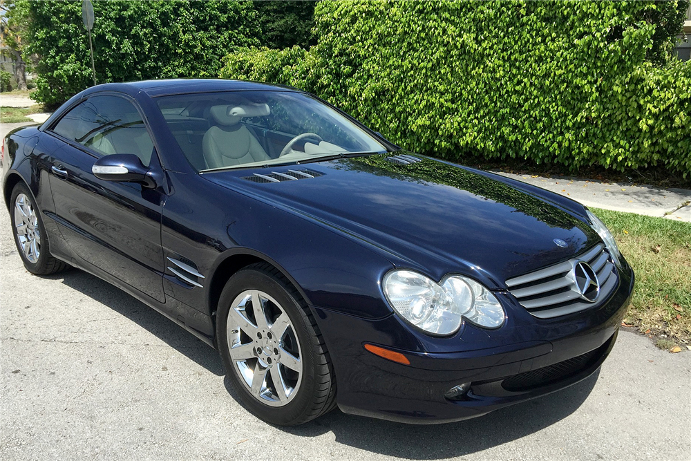 2003 mercedes benz sl 500 convertible 195754