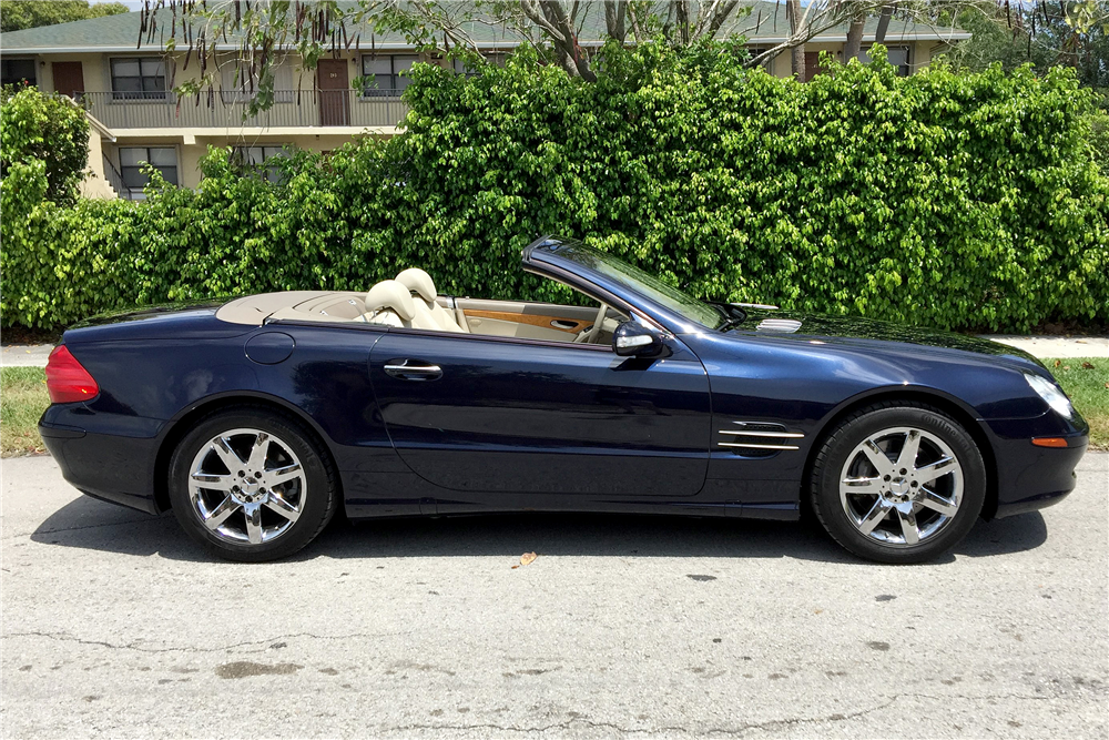 2003 mercedes benz sl 500 convertible 195754 for Mercedes benz 500 convertible
