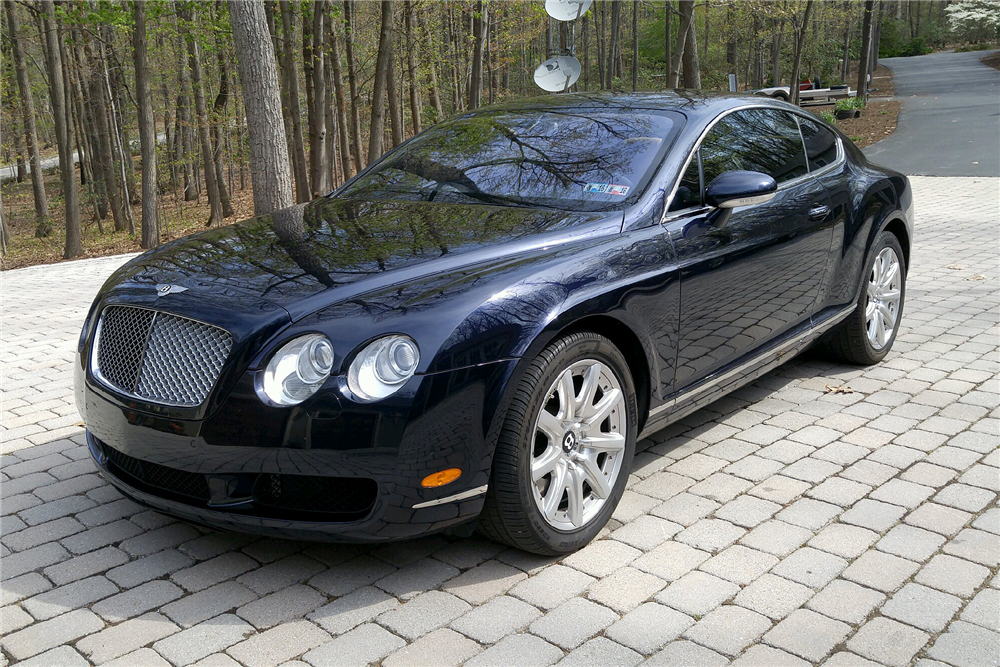 2004 BENTLEY CONTINENTAL GT - Front 3/4 - 195755