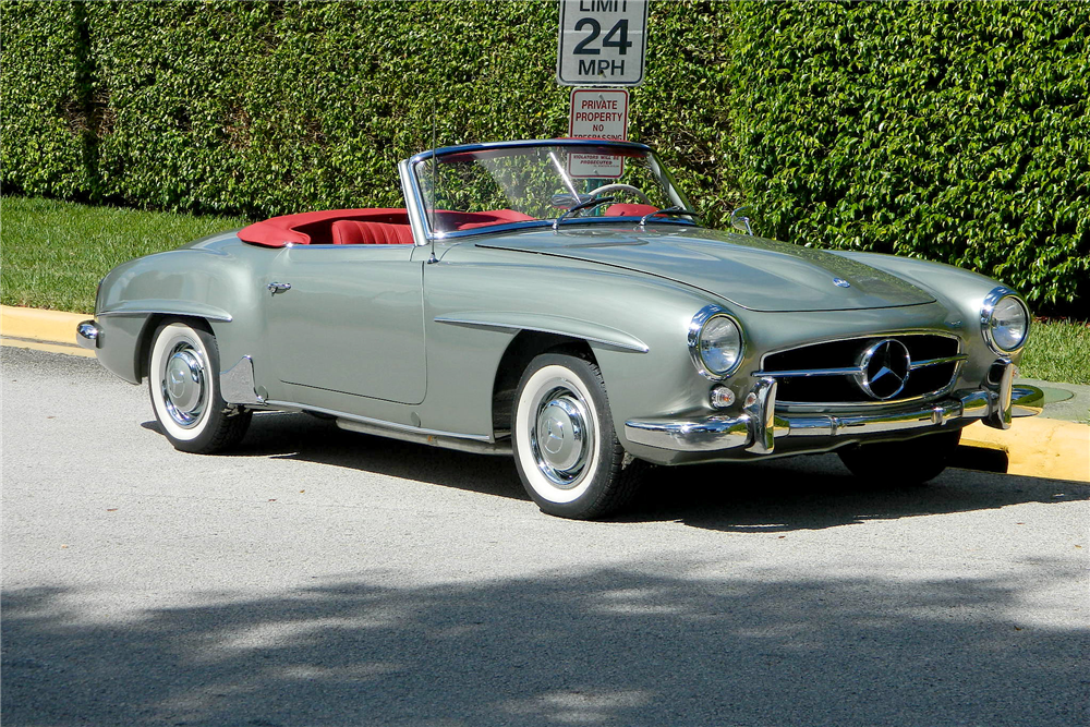 1960 mercedes benz 190 sl convertible 195761 for Mercedes benz sl convertible