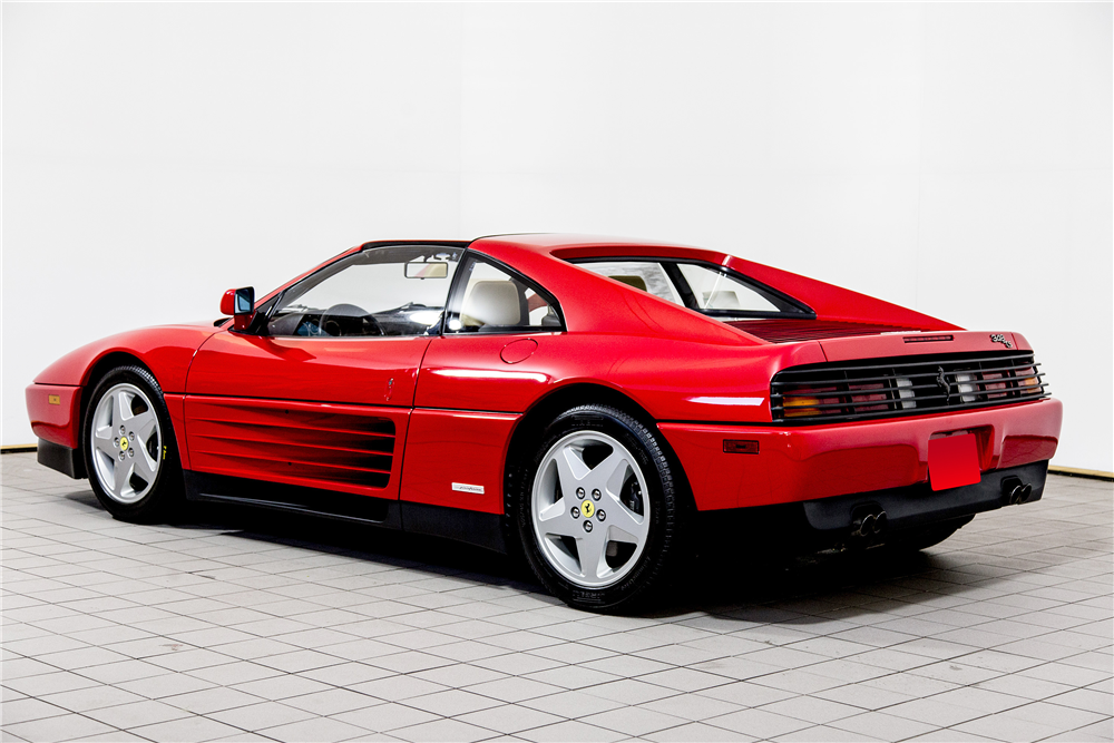 1991 ferrari 348 ts targa 195765. Black Bedroom Furniture Sets. Home Design Ideas