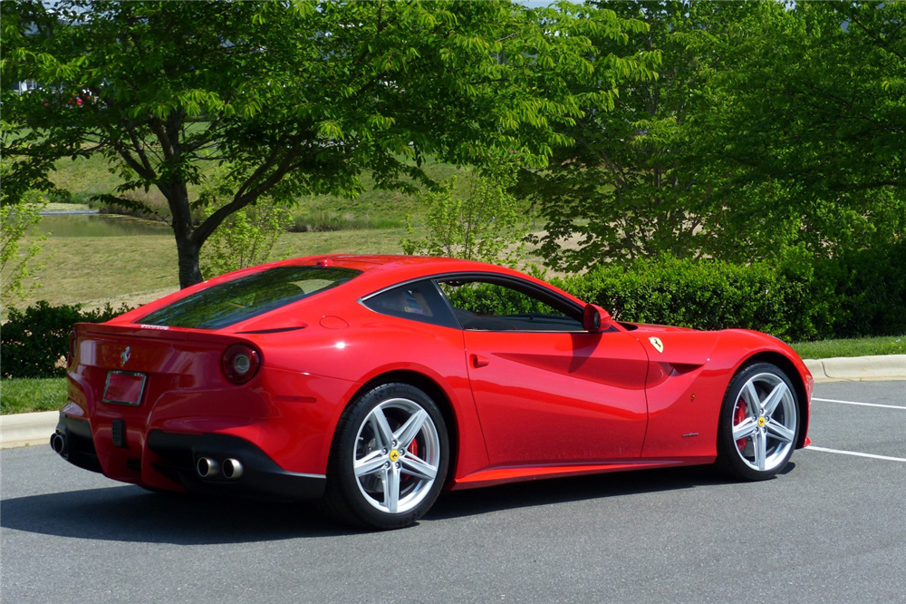 2013 ferrari f12 berlinetta rear 3 4 195791. Cars Review. Best American Auto & Cars Review