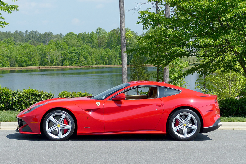 2013 ferrari f12 berlinetta side profile 195791. Cars Review. Best American Auto & Cars Review