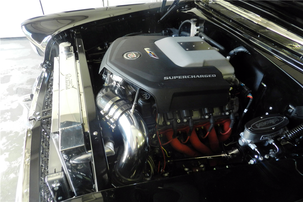 1955 CHEVROLET BEL AIR CUSTOM CONVERTIBLE - Engine - 195824