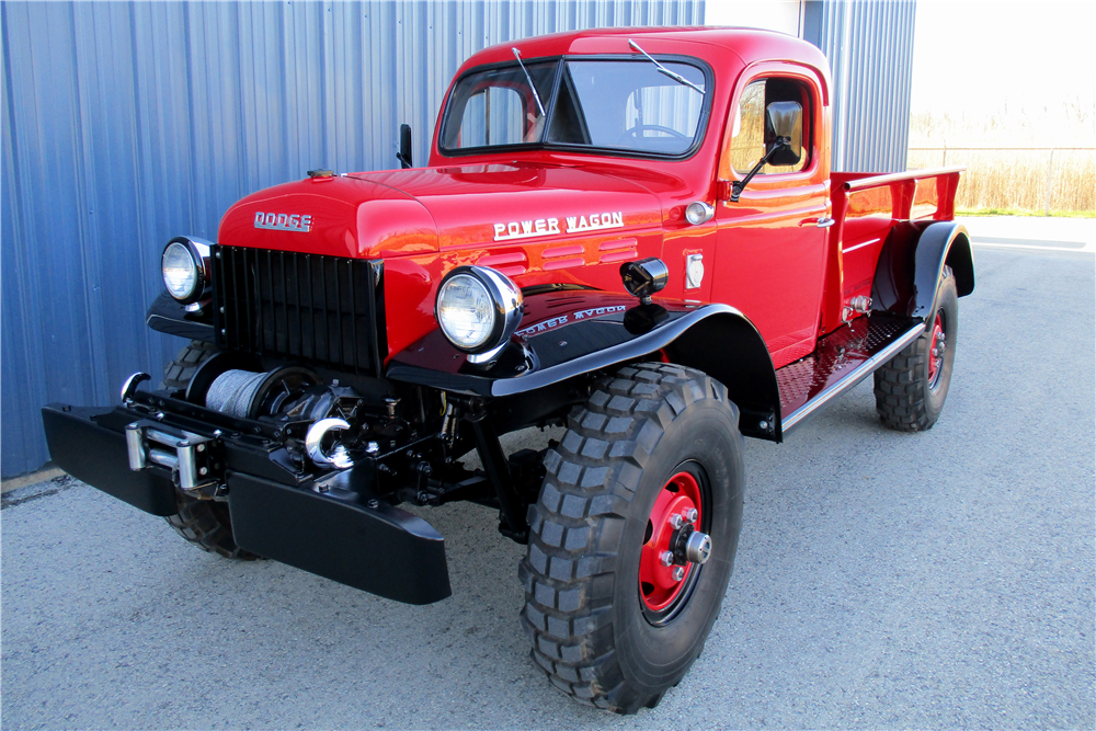 1953 DODGE POWER WAGON PICKUP - Front 3/4 - 195840