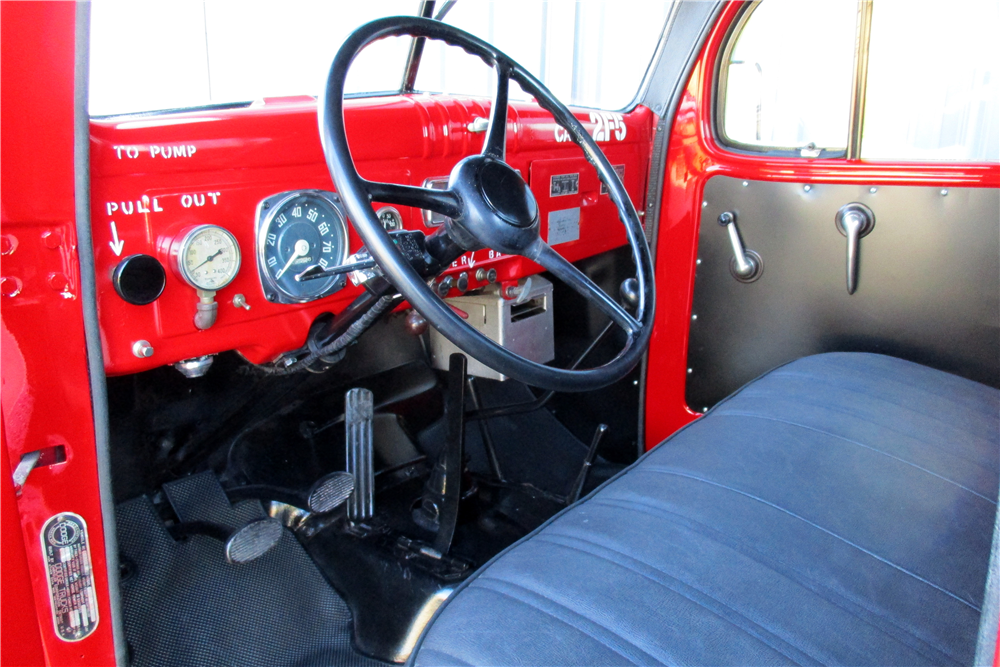 1953 DODGE POWER WAGON PICKUP - Interior - 195840