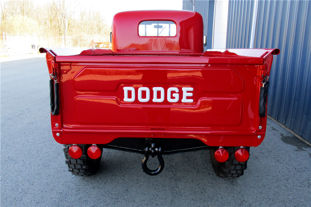 1953 DODGE POWER WAGON PICKUP - Rear 3/4 - 195840