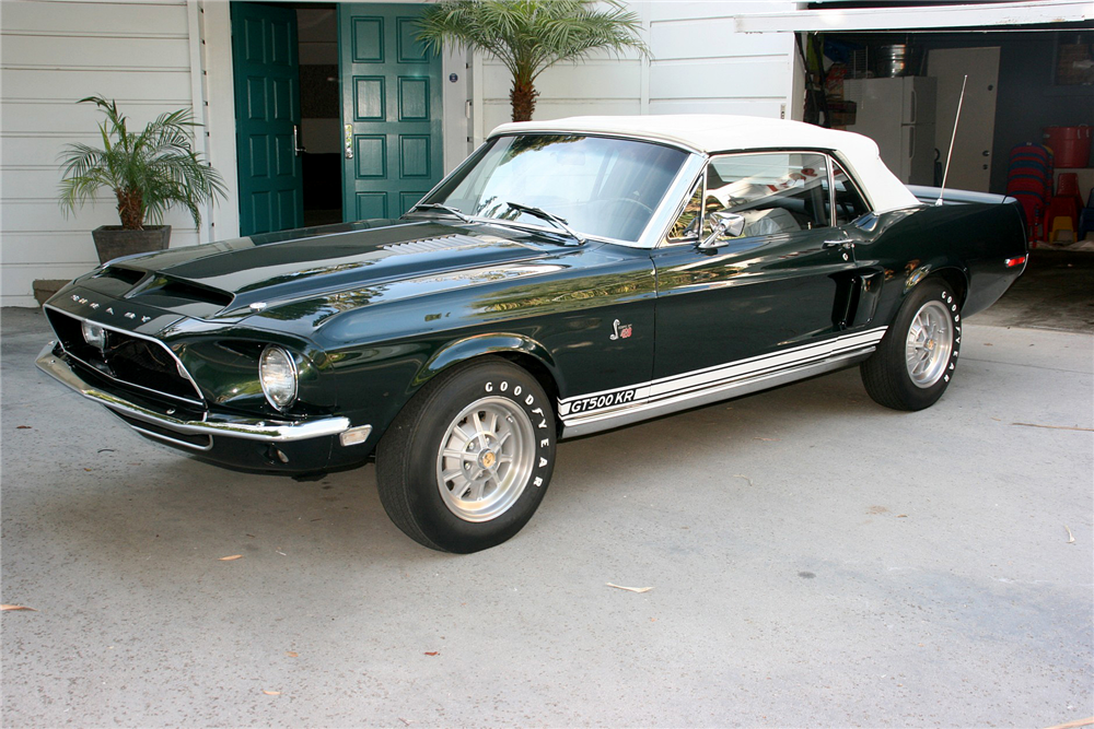 1968 SHELBY GT500 KR CONVERTIBLE - Front 3/4 - 195851