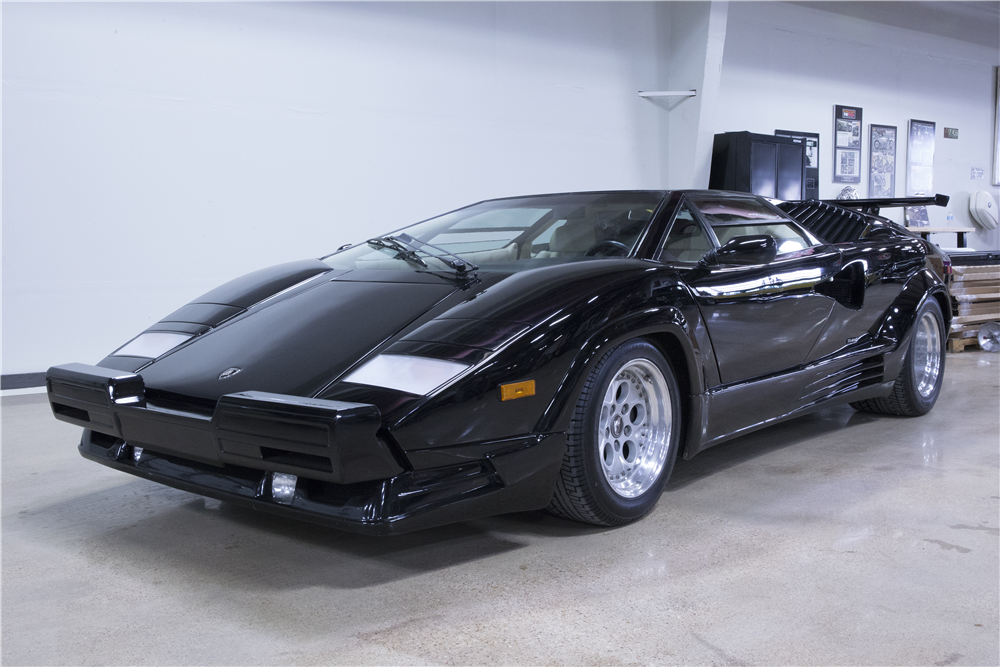 1989 lamborghini countach 25th anniversary edition 195863. Black Bedroom Furniture Sets. Home Design Ideas