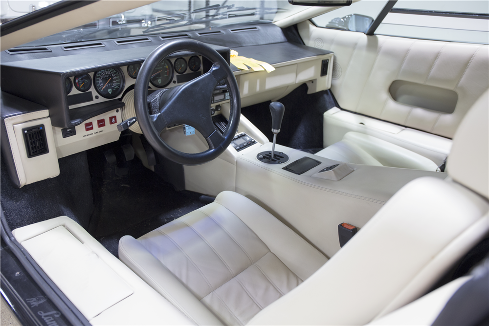 Great ... 1989 LAMBORGHINI COUNTACH 25TH ANNIVERSARY EDITION   Interior   195863  ...