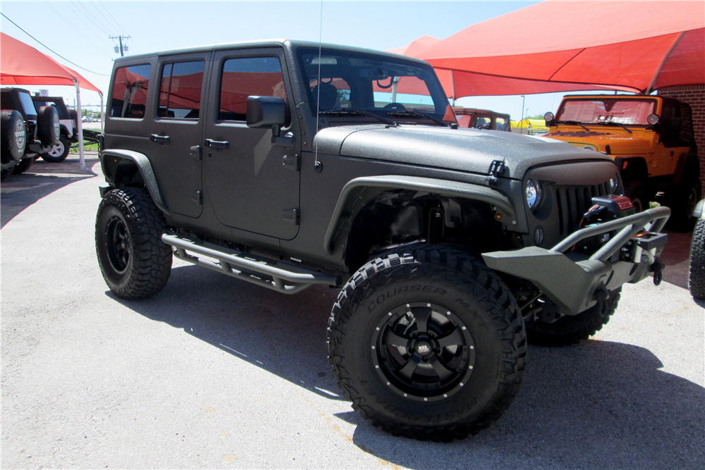 2015 jeep wrangler unlimited custom suv 195881. Black Bedroom Furniture Sets. Home Design Ideas