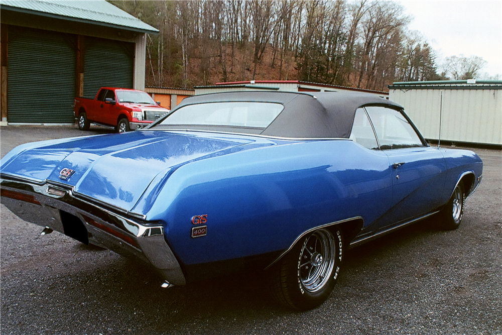 1969 BUICK GS 400 STAGE 1 CONVERTIBLE - 195975