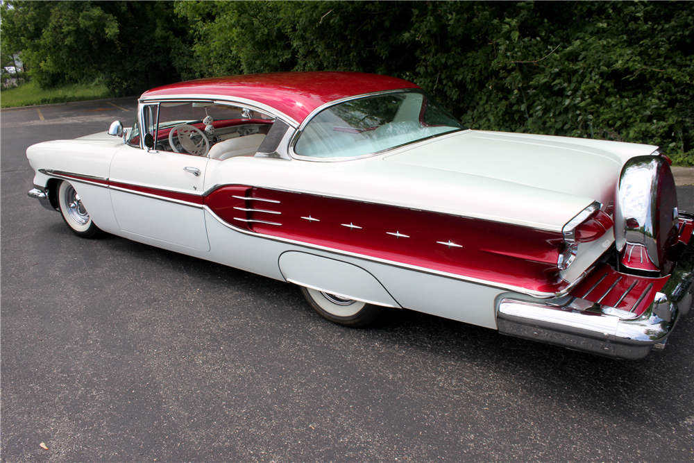 1958 Pontiac Star Chief Custom Hardtop 196002