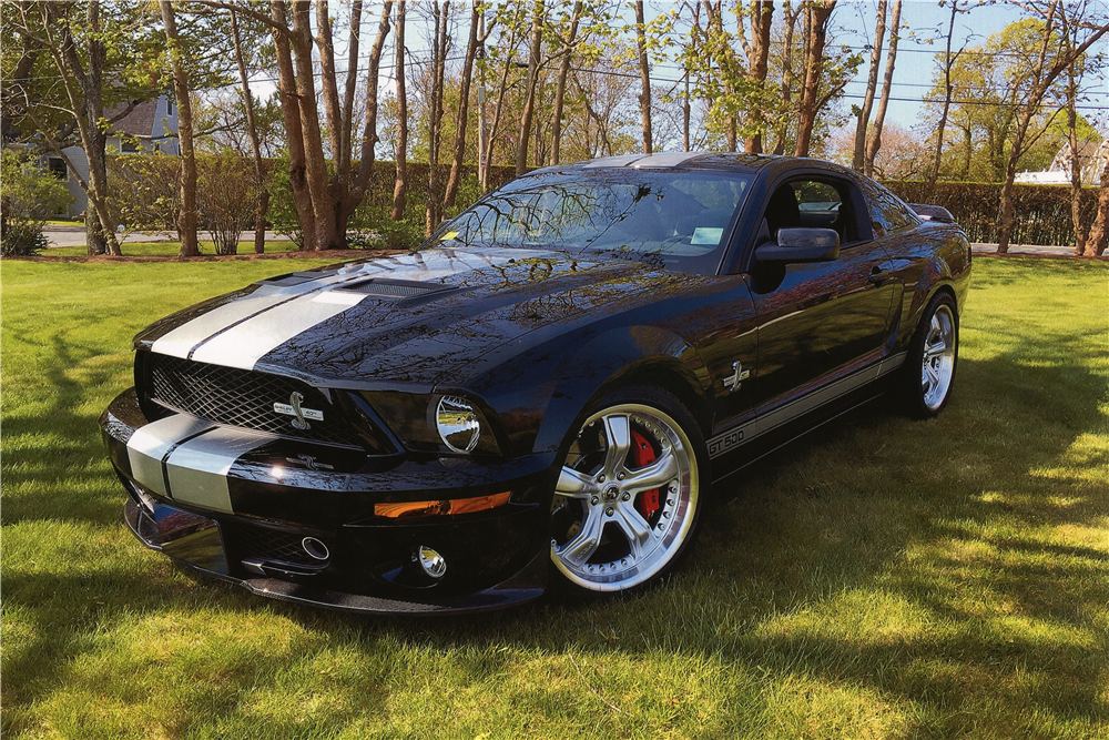 Car Auction Online >> 2007 SHELBY GT500 40TH ANNIVERSARY EDITION