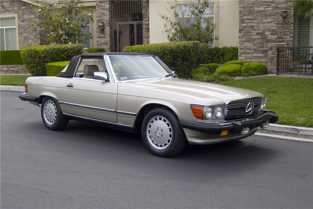 1989 mercedes benz 560 sl convertible. Black Bedroom Furniture Sets. Home Design Ideas