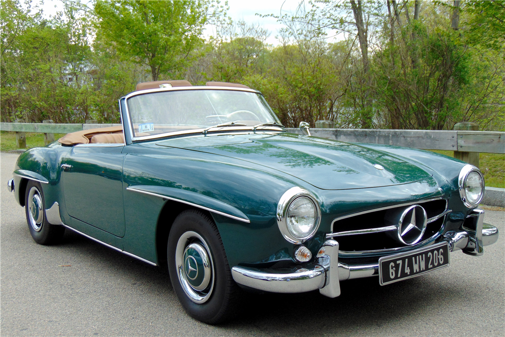 1961 mercedes benz 190 sl roadster 196148