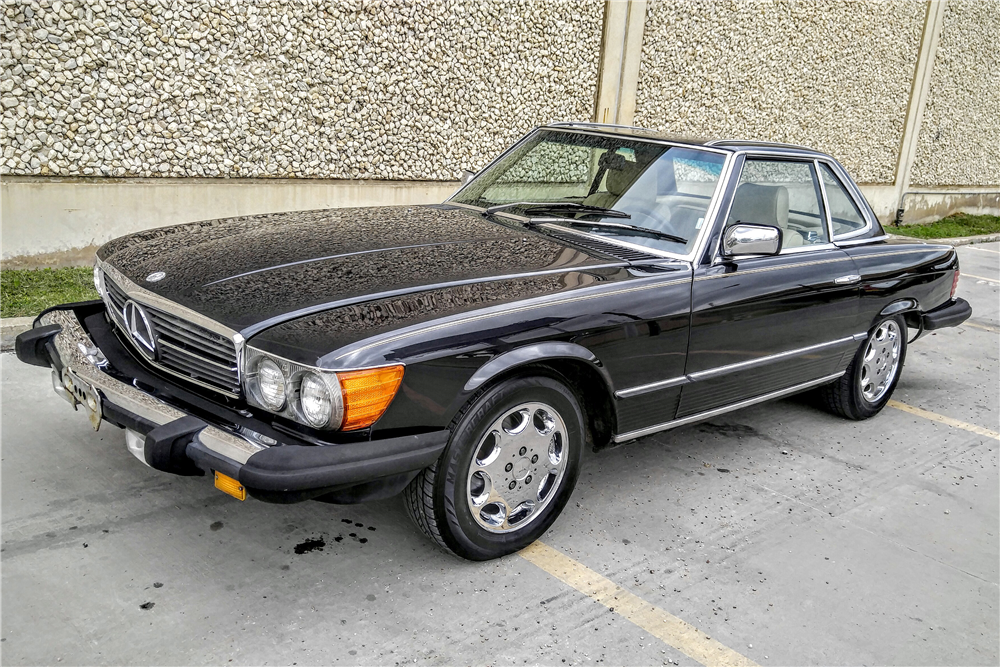 1982 mercedes benz 380 sl convertible 196152. Black Bedroom Furniture Sets. Home Design Ideas