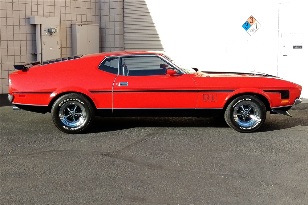 1971 FORD MUSTANG MACH 1 FASTBACK - 196197 Mustang Mach 1 Fastback 1971