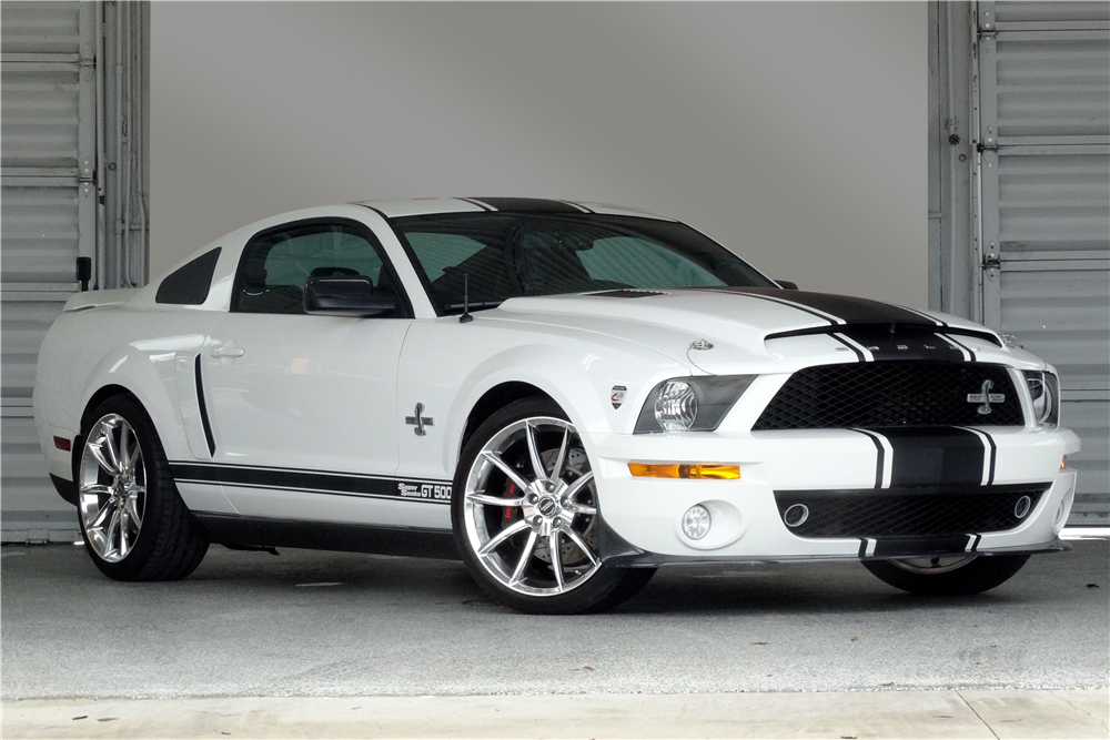2007 Ford Mustang Shelby Gt500 Super Snake Front 3 4 196389