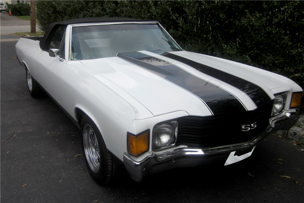1972 chevrolet el camino custom convertible 196398. Black Bedroom Furniture Sets. Home Design Ideas