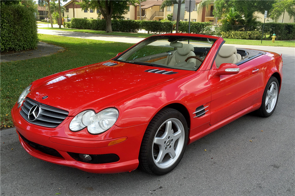 2003 mercedes benz sl 500 convertible 196497 for Mercedes benz sl convertible