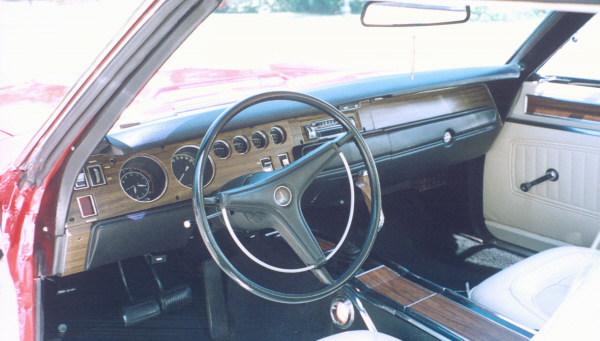 1970 PLYMOUTH GTX 2 DOOR HARDTOP - Interior - 19670
