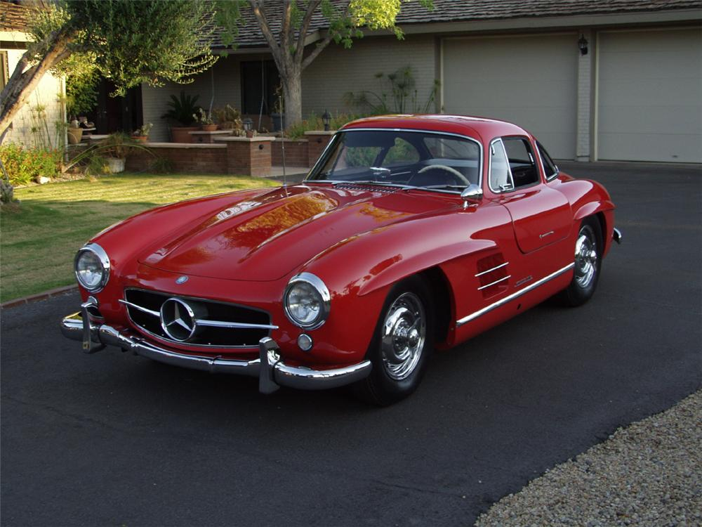 1955 mercedes benz 300sl gullwing 19671 for Mercedes benz gullwing 1955